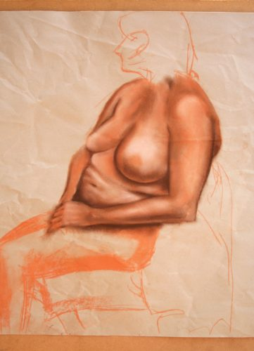 Life drawing study - Woman #13 - Russ Horne