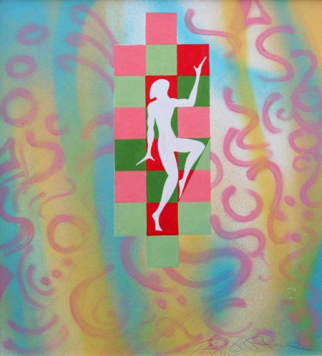 Geometric Dancer - Russ Horne