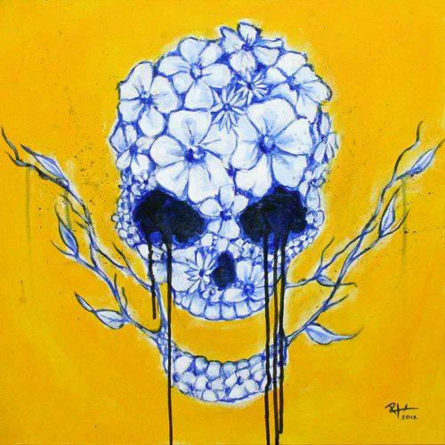 Flower Skull - Russ Horne
