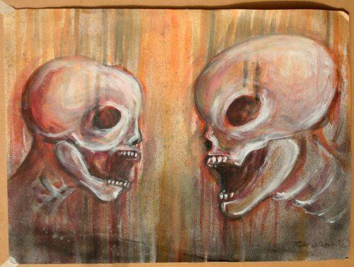 Twin Skulls - Russ Horne