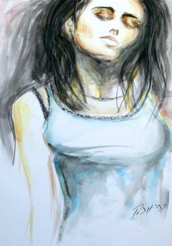 Contemplating Munch's Madonna - Russ Horne