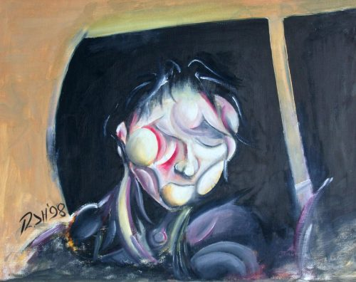 Self Portrait 1998 - Russ Horne