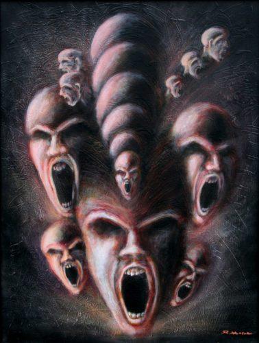 The Scream #2 - Russ Horne