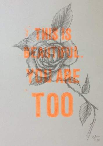 This is beautiful - roses